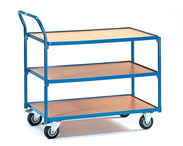 Как выбрать тележку для склада?