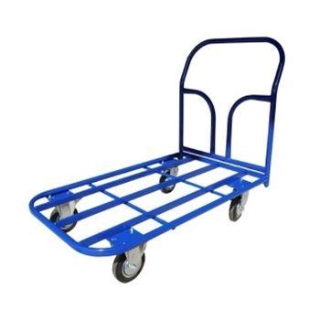 Тележка платформенная каркасная ТК 6 (800х1200), колеса d200 лчр, г/п 550 кг