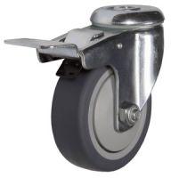SChgb100 (TPRD) Ролик поворотный под болт, с торм.