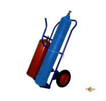 Тележка - сварочный пост КП 2 У, колеса d350 пенополиуретановые, г/п 300 кг