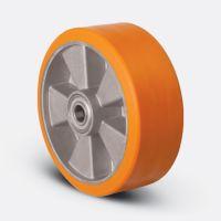 Колесо полиуретановое 100 мм (ABP 100), диск алюминий
