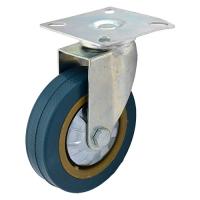 Колесо сер. рез.  поворот. 125мм (SCG55)
