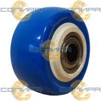 Колесо б\к синее 75 мм шарик. подшипник