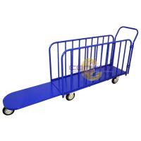 Тележка для перевозки длинномерных грузов ДЛ (450х1300), колеса d160 лчр, г/п 450 кг