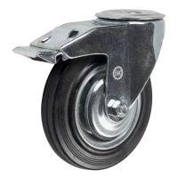 SChb80 (18) Ролик поворотный с тормозом