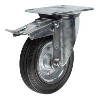 SRCb80 (43) Ролик поворотный с торм.