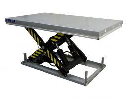 Стол подъемный электрический TISEL TLX3000EU 3000kg-1020mm-220mm-1300x800mm, 1.5kw, 380VAC3 50Hz Int