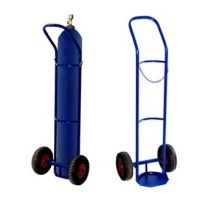 Тележка для перевозки одного баллона ГБ-1, колеса d260 пенополиуретановые, г/п 110 кг
