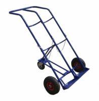 Тележка для перевозки 2-х баллонов КП 2, колеса d260 пенополиуретановые, г/п 220 кг