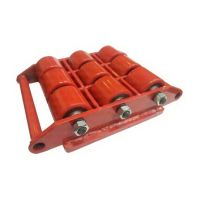 Транспортно-роликовые платформы CRA18, г/п 18.0 тн, 500х305х108 мм, колеса 80х70 мм-9шт, вес 27 кг