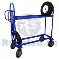 Тележка для перевозки автомобильных колес (шин) ТДШ
