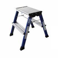 ROLLY Двусторонняя складная подставка ступ. 2 х 2, синяя