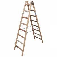 Деревянная двухсторонняя лестница, 2 х 8 пер.