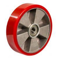 Рулевое колесо полиуретан/алюминий (180х50х50)