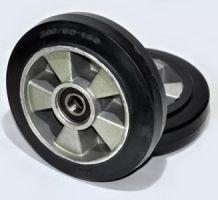 Колесо рулевое резина/алюминий 200х50х50
